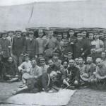 Japoński generał Kuroki ze sztabem, 1904 r