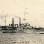 Japoński krążownik pancerny Tokiwa, 1905 r