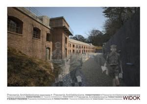 Muzeum Ruchu Harcerskiego w Krakowie - wizualizacja