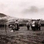Pogrzeb żołnierzy zabitych w bitwie o Dalian, 14 czerwca 1904 r