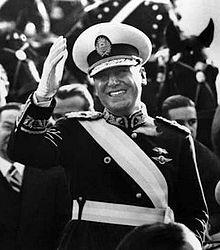 Prezydent Argentyny Juan Perón