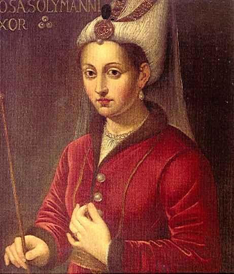 Roksolana Hürrem Słowiańska Ulubienica Sułtana Sulejmana