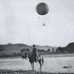 Rosyjski balon obserwacyjny podczas bitwy o Liaoyang, 1904 r -2