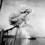 Wybuch rosyjskiej kanonierki Koriejec, 9 lutego 1904 r
