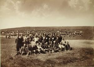 Żołnierze i oficerowie Lejb-Gwardyjskiego Preobrażeńskiego Pułku, Turcja, 1878 r