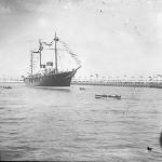 """112-metrowy jacht """"Standard"""" - własność Mikołaja II, początek XX wiek"""