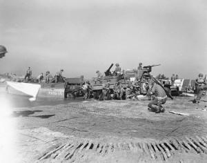 Amerykanie lądują w Salerno w 1943 r.