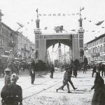 Brama na cześć szacha Persji Mozafera-ed-dina, Sankt Petersburg, 1902 r