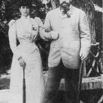 Car Alexander III z carycą Marią Fiodorowną