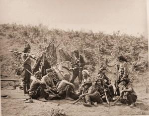 Grupa bałkańskich ochotników, 1877 r