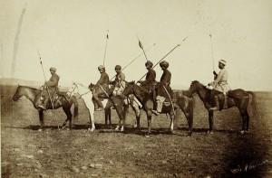 Grupa jeźdźców kurdyjskich, 1877 r