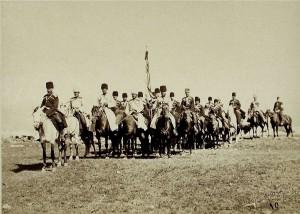 Gwardia wielkiego księcia Mikołaja Mikołajewicza starszego, 1877 r