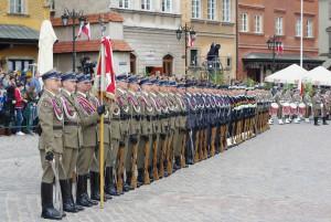 Obchody uchwalenia Konstytucji 3 Maja w Warszawie/ fot. Konrad Tracz