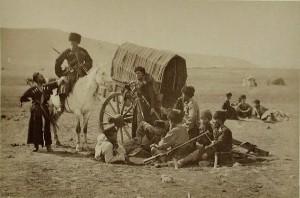 Kozacy podczas przerwy, 1878 r