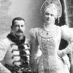 Książę Feliks Sumarkow-Elston i księżna Zinaida Josupowa, rodzice księcia Feliksa Jusupowa