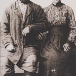 Małżeństwo polskich zesłańców syberyjskich, koniec XIX weiku