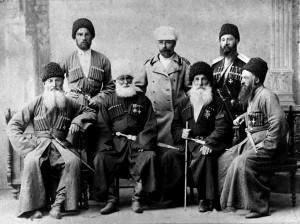 Osetyjczycy walczący po rosyjskiej stronie, 1877 r