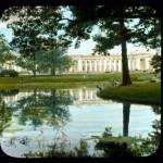 Pałac Aleksandrowski, zdjęcie koloryzowane z XX wieku