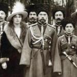 Rodzina carska, początek XX wieku