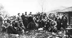Rosyjscy strzelcy na Szipce, 1877