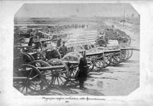 Rosyjskie baterie oblężnicze, 1878 r