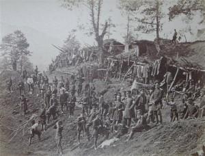 Rota 2-go saperskiego batalionu kaukaskiego, 1877 r