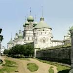 Teren pałacowy w Rostowie, ok 1910