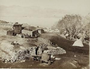Widok z tureckiego obozu wojskowego, 1877 r
