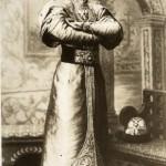 Wielki książę Siergiej Aleksandrowicz w XVII-wiecznym stroju członka rodziny carskiej, kwiecień 1903 r