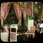 Wnętrza Pałacu Aleksandrowskiego, zdjęcie koloryzowane z XX wieku