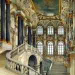 Wnętrza Pałacu Zimowego, obraz z połowy XIX wieku