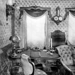 Wnętrze carskiego pociągu, początek XX wieku