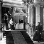 bracia Jegorow w bani, Sankt Petersburg, 1914 r