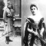wielki książę mikołaj mikołajewicz z żoną wielką księżną Aleksandrą Nikołajewną