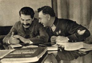Stalin i Woroszyłow, zdjęcie z 1935 roku
