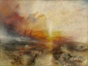 Statek Niewolniczy, obraz Williama Turnera