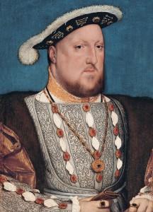 Henryk VIII Tudor, portret autorstwa Hansa Holbeina