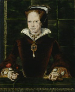by Hans Eworth, oil on panel, 1554