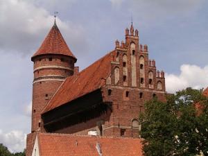 Zamek Kapituły Warmińskiej w Olsztynie / fot. Zbikun, CC-BY-SA-3.0
