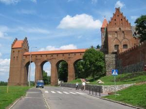 Gdanisko i skrzydło zachodnie zamku w Kwidzynie / fot. Piotr_J, CC-BY-SA-3.0