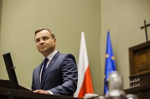 Prezydent podczas orędzia / fot. prezydent.pl