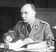 Arthur Greiser. namiestnik Rzeszy (Reichsstatthalter) w Kraju Warty