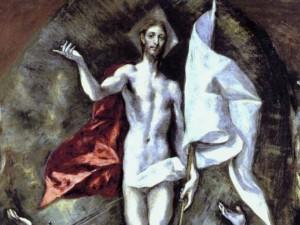 El Greko, Zmartwychwstanie Chrystusa (fragment)