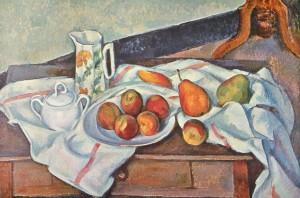Brzoskwinie i gruszki, Paul Cézanne (1890-1894)