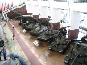 Chińskie czołgi w Muzeum Wojskowym Chińskiej Rewolucji Ludowej / fot. Benjamin Vander Steen, CC-BY-SA 3.0