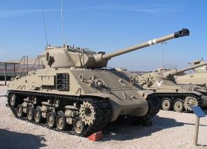 Sherman M-50 w Muzeum Yad la-Shiryon / fot. Bukvoed, CC-BY-SA 3.0