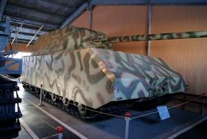 PzKpfw VIII Maus w Muzeum Czołgów w Kubince / fot. Danila Batalin, CC-BY-SA 3.0