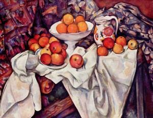 Jabłka i pomarańcze, Paul Cézanne (1895–1900), Musée d'Orsay, Paryż