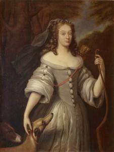 Louise de La Vallière jako Diana, autor nieznany