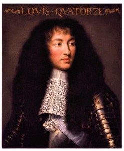 Portret Ludwika XIV przypisywany Charlesowi Le Brun
